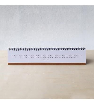 Calendario de mesa - 2022 - Moslo