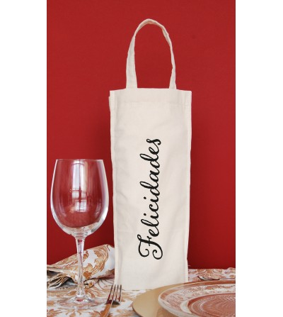 "Bottle bag ""Congratulations""."