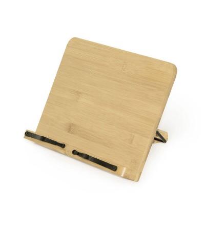 Atril de bambú plegable.Legami