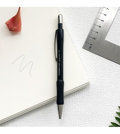 Retractable pencil 0.5 mm. with Staedtler rubber.