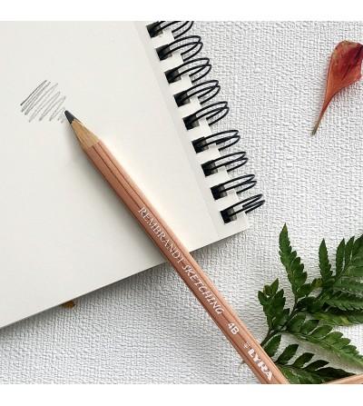 Sketch pencil 4B. Lyra