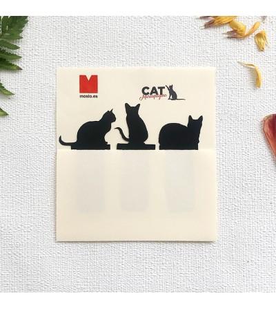 Marcapáginas gatitos. Moslo