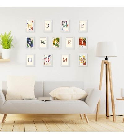 HOME SWEET HOME framed pictures. Moslo