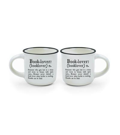 copy of 2 Tazas de porcelana de café espresso. Legami